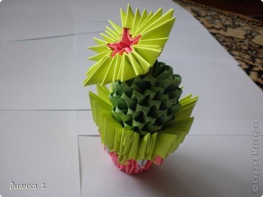 Обожаю эти растения!!!Решила сделать ещё один кактус!!!!! фото 3