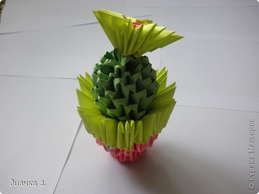 Обожаю эти растения!!!Решила сделать ещё один кактус!!!!! фото 2