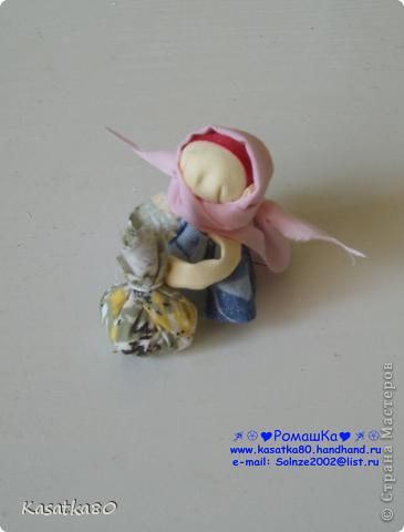 Оберег кукла-подорожница фото 2