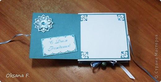 """Эту открытку """"2 в 1"""" заказали к дню рождения. фото 3"""
