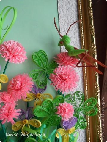 подобная полянка.Луговые цветы http://stranamasterov.ru/user/26042 фото 3
