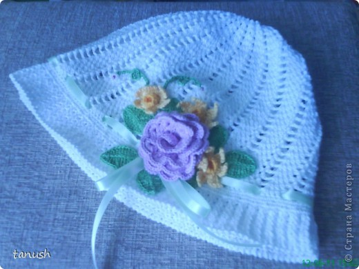 цветочная панамка с осинки