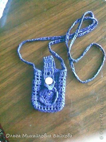 Сюрприз для внученьки.Нашей моднице не хватало оказывается сумочки для её мобилки(игрушечной). фото 3