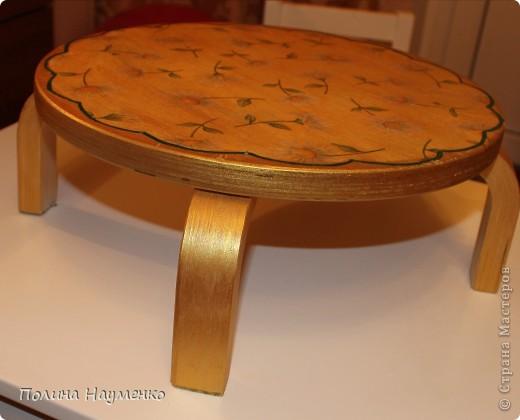 вид сверху, весь стул позолочен)) фото 3