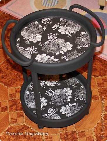 Раньше это был простой столик из коричневой пластмассы... фото 2