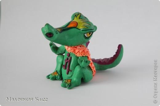 Крокодил, питающийся исключительно цитрусовыми, из сострадания к зебрам и антилопам :) фото 1