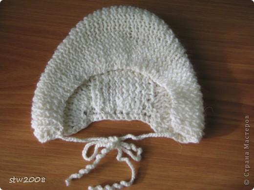 Вязала дочке повязку на зиму под капюшон, т.к. учится в хореографическом классе и ходит в школу с шишкой на голове, а на неё шапку не наденешь, поэтому возникла необходимость связать такую штучку. фото 7
