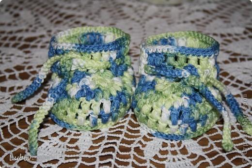 Пинетки для малыша. фото 2