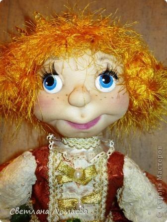 Разрешите представить принцесса Ксю. Текстильная кукла. фото 3