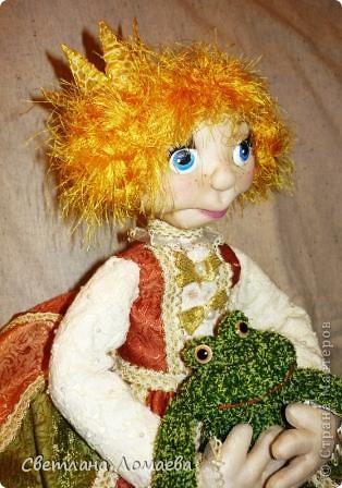 Разрешите представить принцесса Ксю. Текстильная кукла. фото 1