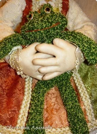 Разрешите представить принцесса Ксю. Текстильная кукла. фото 4