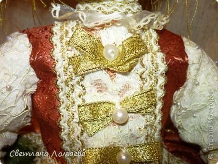 Разрешите представить принцесса Ксю. Текстильная кукла. фото 6