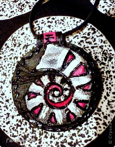 черно-белое колье фото 18