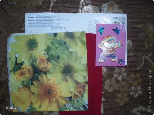 Наша мастерица Анфисик подарила мне очень нежный цветочек и сказала, чтобы я сделала себе карточку и вот я сделала:)))Анфиса, огромное, огромное тебе спасибо!!!!!!!!!!!!!!!! фото 7