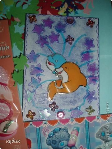 Наша мастерица Анфисик подарила мне очень нежный цветочек и сказала, чтобы я сделала себе карточку и вот я сделала:)))Анфиса, огромное, огромное тебе спасибо!!!!!!!!!!!!!!!! фото 17