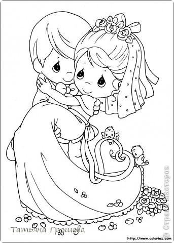 У нас скоро свадьба, дочка выходит замуж. Она попросила меня сделать приглашения на свадьбу, а дальше пошло-поехало. Сделала приглашения, потом торт из бонбоньерок, потом бокалы. На очереди подушечка для колец и квиллинговые фигурки жениха и невесты. фото 8