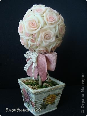 Дорогие мои, выставляю на ваш суд Розовое деревце.  фото 2