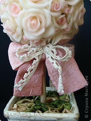 Дорогие мои, выставляю на ваш суд Розовое деревце.  фото 5