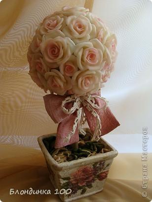 Дорогие мои, выставляю на ваш суд Розовое деревце.  фото 7