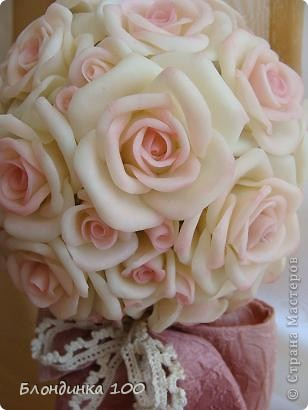 Дорогие мои, выставляю на ваш суд Розовое деревце.  фото 6