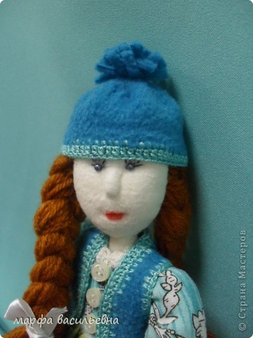 Куклу шила на заказ для маленькой девочки.Как всегда бросила все дела и окунулась в работу с головой. фото 3