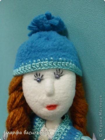 Куклу шила на заказ для маленькой девочки.Как всегда бросила все дела и окунулась в работу с головой. фото 4