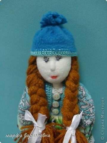 Куклу шила на заказ для маленькой девочки.Как всегда бросила все дела и окунулась в работу с головой. фото 6