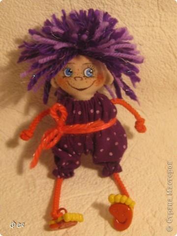 Вот они, мои чувырлики ,чучундрики , пушистики и одуванчики:))  Я так называю этих куклёшек, которых я сшила для своих куколок:))) фото 11