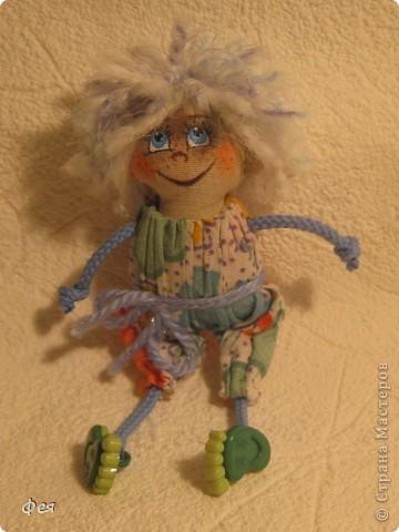 Вот они, мои чувырлики ,чучундрики , пушистики и одуванчики:))  Я так называю этих куклёшек, которых я сшила для своих куколок:))) фото 8