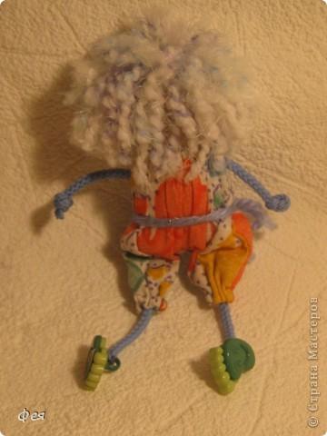 Вот они, мои чувырлики ,чучундрики , пушистики и одуванчики:))  Я так называю этих куклёшек, которых я сшила для своих куколок:))) фото 9