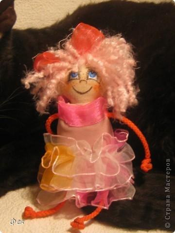 Вот они, мои чувырлики ,чучундрики , пушистики и одуванчики:))  Я так называю этих куклёшек, которых я сшила для своих куколок:))) фото 2
