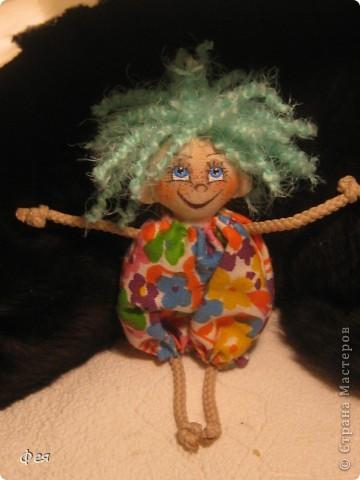 Вот они, мои чувырлики ,чучундрики , пушистики и одуванчики:))  Я так называю этих куклёшек, которых я сшила для своих куколок:))) фото 5