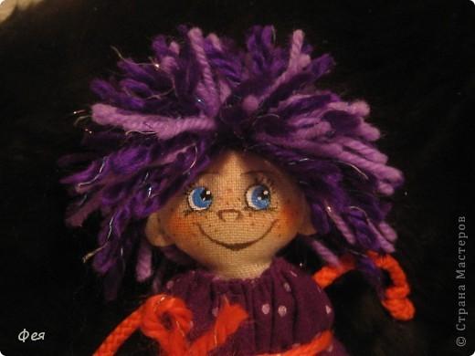 Вот они, мои чувырлики ,чучундрики , пушистики и одуванчики:))  Я так называю этих куклёшек, которых я сшила для своих куколок:))) фото 13