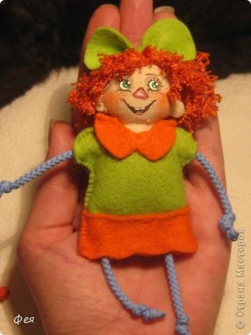 Вот они, мои чувырлики ,чучундрики , пушистики и одуванчики:))  Я так называю этих куклёшек, которых я сшила для своих куколок:))) фото 14