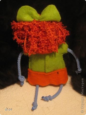 Вот они, мои чувырлики ,чучундрики , пушистики и одуванчики:))  Я так называю этих куклёшек, которых я сшила для своих куколок:))) фото 15