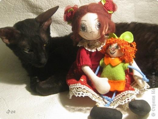 Вот они, мои чувырлики ,чучундрики , пушистики и одуванчики:))  Я так называю этих куклёшек, которых я сшила для своих куколок:))) фото 17