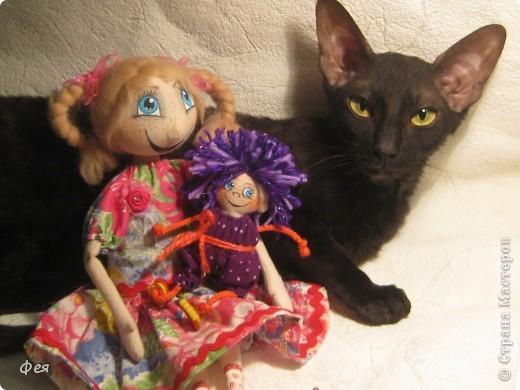 Вот они, мои чувырлики ,чучундрики , пушистики и одуванчики:))  Я так называю этих куклёшек, которых я сшила для своих куколок:))) фото 18