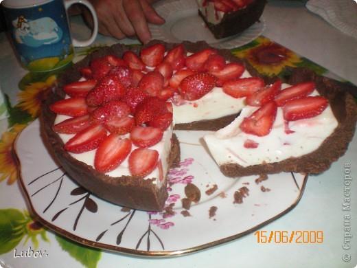 "Торт "" Кокос"" с клубникой. фото 21"