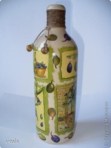 Бутылка_оливки фото 1