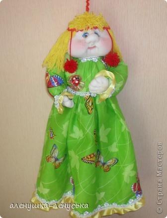 Полинушка - сделана в подарок, ждет появления своей сестрички Олеси фото 1