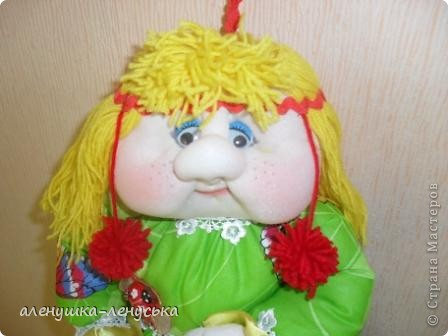Полинушка - сделана в подарок, ждет появления своей сестрички Олеси фото 2