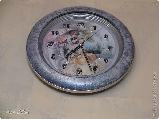 Так теперь выглядят мои часы на кухне. фото 1