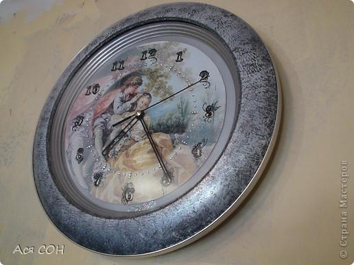Так теперь выглядят мои часы на кухне. фото 2