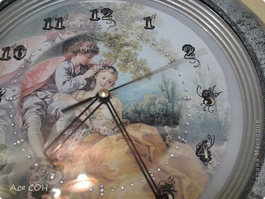 Так теперь выглядят мои часы на кухне. фото 3