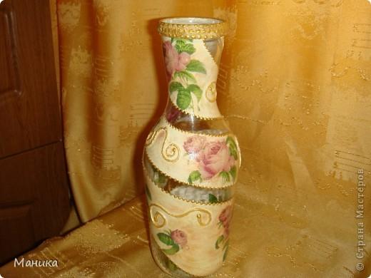 """Решила на день рождения подруге сделать небольшой подарок. Она просила сделать вазочку в этой цветовой гамме. Но что такое одна вазочка? Как говорится """"наши руки не для скуки"""". Решила сделать вот такой наборчик. фото 6"""
