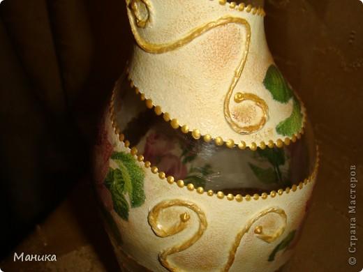 """Решила на день рождения подруге сделать небольшой подарок. Она просила сделать вазочку в этой цветовой гамме. Но что такое одна вазочка? Как говорится """"наши руки не для скуки"""". Решила сделать вот такой наборчик. фото 7"""
