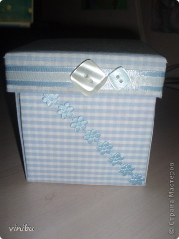 Вот такая коробочка получилась. фото 2