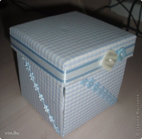 Вот такая коробочка получилась. фото 1