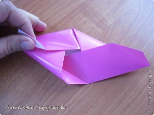 1.Приготовим 6 одинаковых квадратных листов бумаги. фото 11