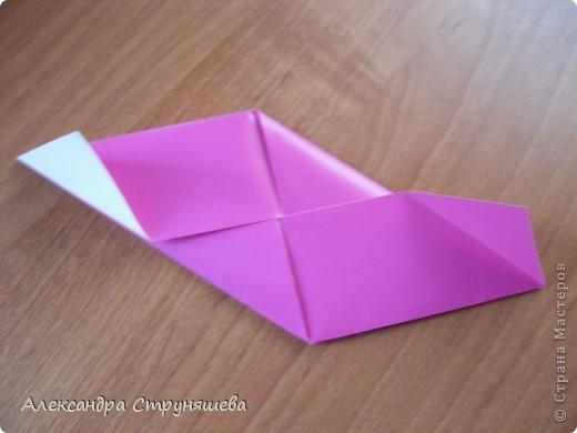 1.Приготовим 6 одинаковых квадратных листов бумаги. фото 12